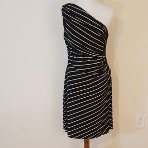 Ralph Lauren black and white dress size 12P